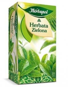 HERBATA HERBAPOL ZIELONA (20), 002030