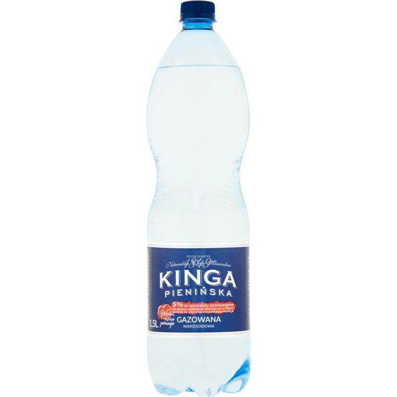 WODA KINGA PIEN. 6*1,5L GAZOWANA, 000446