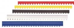 GRZBIETY PLASTIKOWE DO BINDOWANIA COMB CZARNE, 8 MM, 100 SZT. IB08CZA, 032,00023