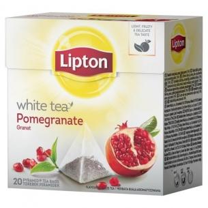 HERBATA LIPTON (20) WHITE GRANAT, 001799