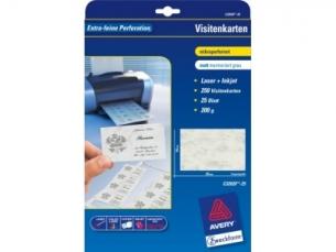 Wizytówki Avery Zf C32011 10 100 1str Mat 200g Papier