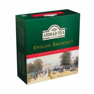 HERBATA AHMAD ENGLISH BREAKFAST (100) Z ZAWIESZKĄ, 002132