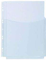 KOSZULKA NA KATALOGI Q-CONNECT PVC 3/4 A4 KRYSTALICZNE 180M, 180 MIC. KF00139, 020,12080