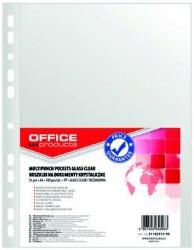 KOSZULKI OFFICE PRODUCTS PP A4 KRYSTALICZNE A4 40MIC 21142215-90, 020,12480