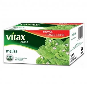 HERBATA VITAX (20) MELISA, 000453