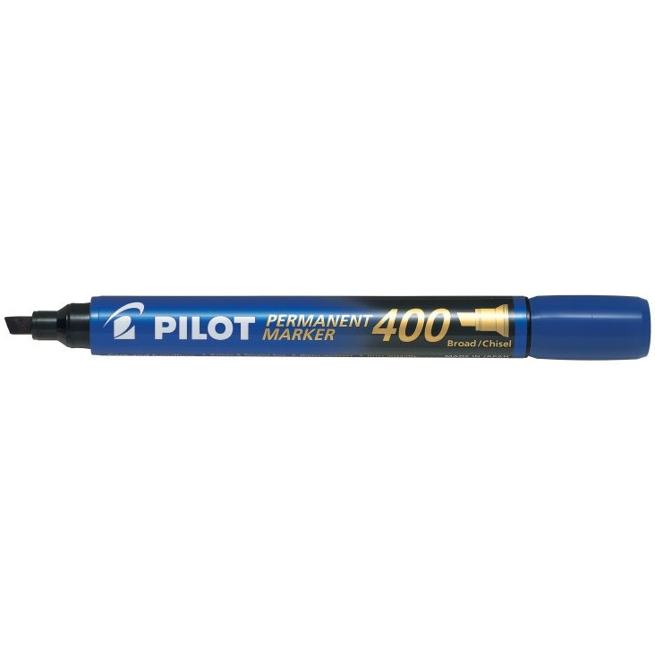 MARKER PERMANENTNY SCA-400 PILOT, NIEBIESKI, KOŃCÓWKA (/), 075,78068