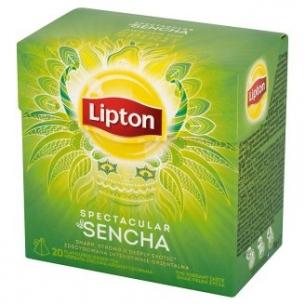 HERBATA ZIELONA LIPTON PIRAMID GREEN (20) SPECTACULAR SENCHA, 002389