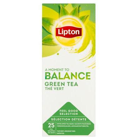 HERBATA ZIELONA LIPTON GREEN CLASSIC (25) KOPERTY, 003148