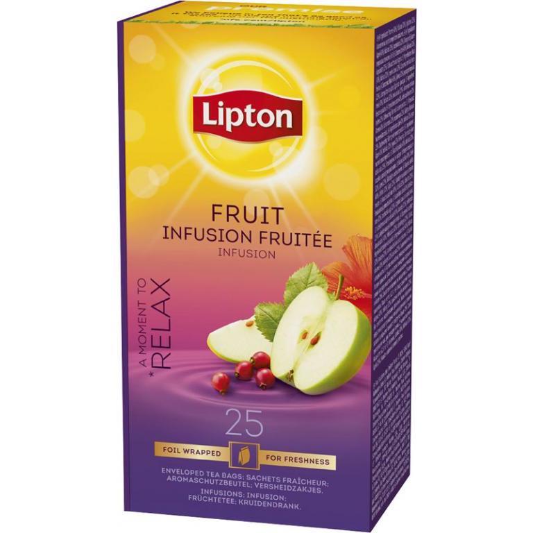 HERBATA LIPTON CLASSIC (25) FRUIT INFUSION KOPERTY, 003162