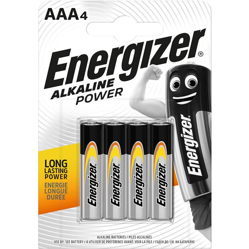 BATERIE ALKALICZNE ENERGIZER BASE AAA-LR03 (4SZT), 038,00005