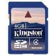 KARTA PAMIĘCI KINGSTON SECURE DIGITAL SDHC CARD 4GB