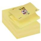 R350-12SS-CY BLOCZKI SAMOPRZYLEPNE POST-IT SUPER STICKY Z-NOTES, ŻÓŁTE, 76 X 127 MM, 90 KART.