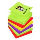 BLOCZKI SAMOPRZYLEPNE POST-IT SUPERSTICKY Z-NOTES, PALETA MARAKESZ, 76 X 76 MM / 6 X 90 / PALETA MARAKESZ