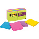 BLOCZKI SAMOPRZYLEPNE POST-IT SUPER STICKY 76 X 76 MM MIX 654-12SSUC