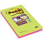 BLOCZEK SAMOPRZYLEPNY POST-IT SUPER STICKY XXXL W LINIE, 125 X 200 MM, 4 X 45K