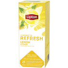HERBATA LIPTON REFRESH LEMON (25) KOPERTY
