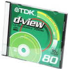 PŁYTY CD TDK 700 MB CD-R D-VIEW (SLIM)