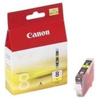 0623B001 - TUSZ CANON CLI8Y YELLOW | 13ML | IP3300/4200/4300/5200/5300/6600/6700/MP500/600/