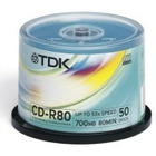 DYSK CD-R TDK 700MB  52X CAKE BOX 50 SZT. CD-R80CBA50-4_X