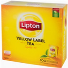 HERBATA LIPTON YELLOW LABEL (100) KOPERTY